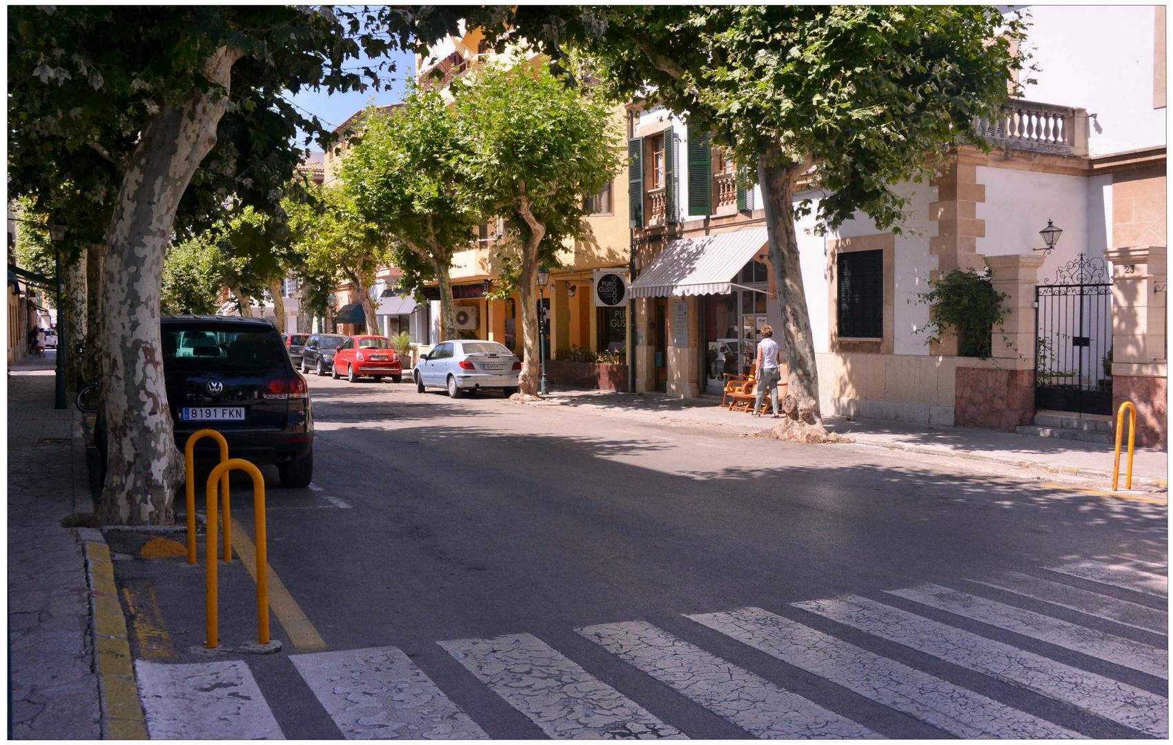 Mallorca 2012, Pollenca, calle