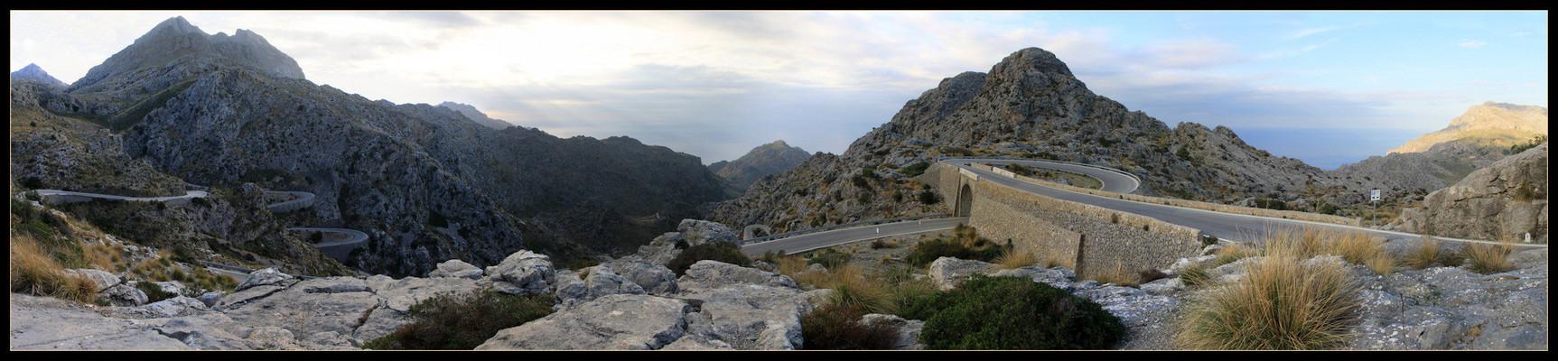 Mallorca - Der 'Krawattenknoten' mit Abfahrt nach 'Sa Calobra'