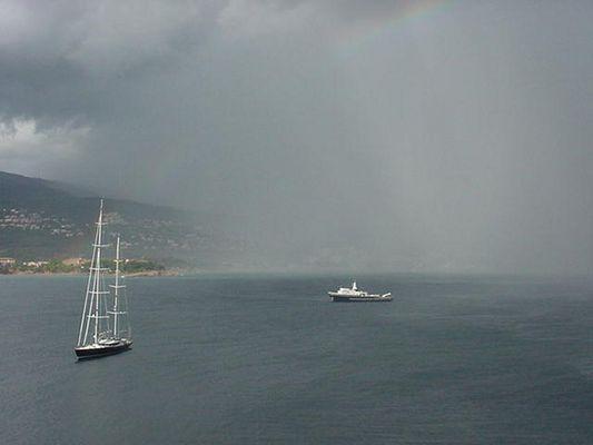 Mallorca -Palmanova- storm
