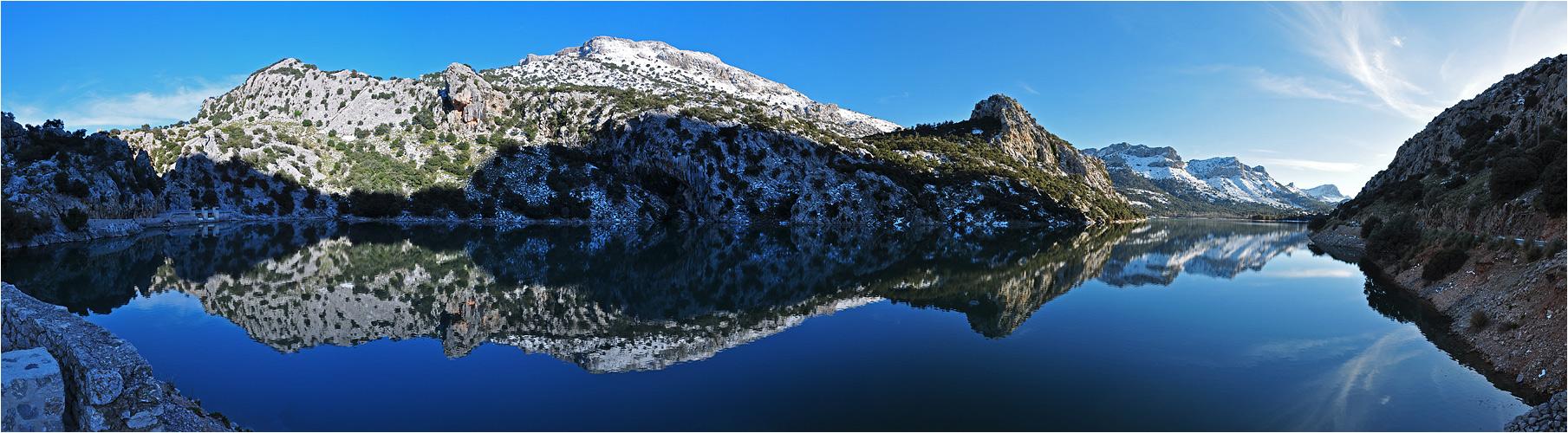 Mallorca Panorama Gorg Blau II
