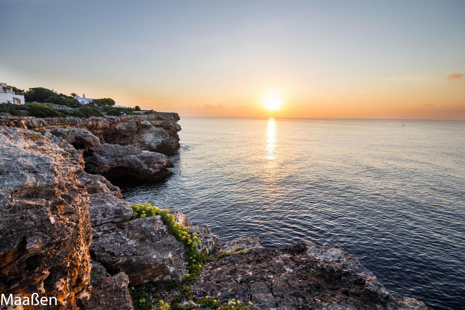 Mallorca Sonnenaufgang, alle Touristen schlaffen noch :-)