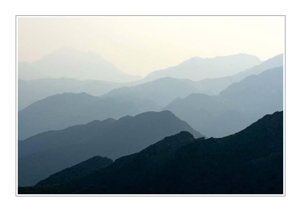 Mallorca, The Mountains (I), in colour