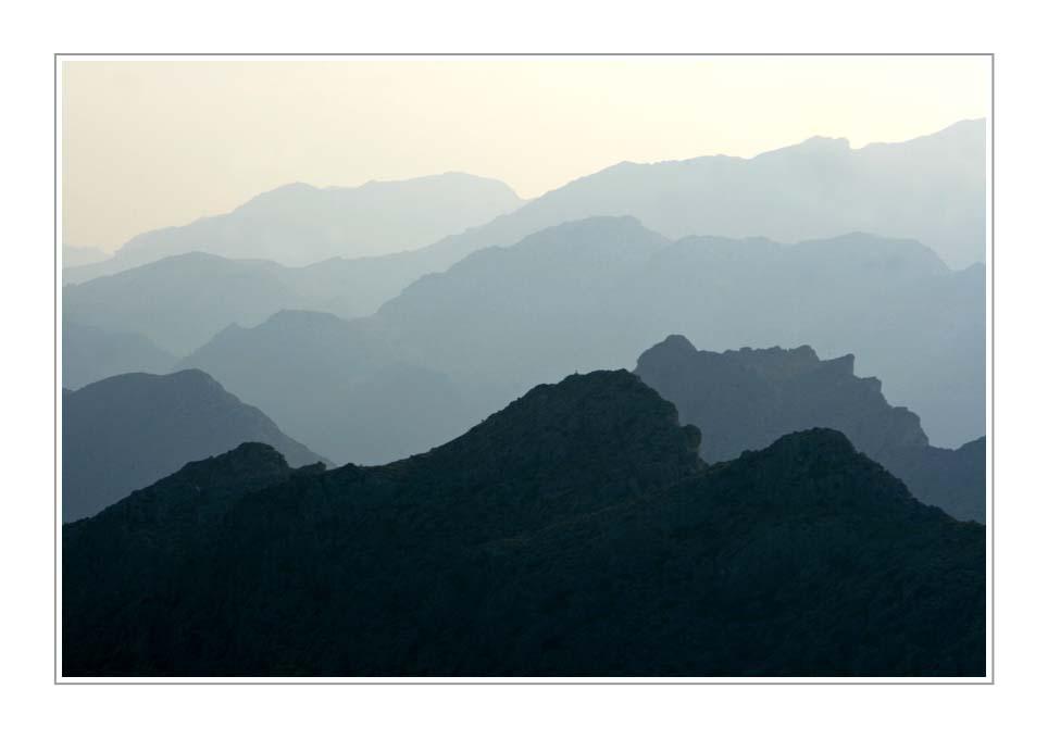 Mallorca, The Mountains (II), in colour