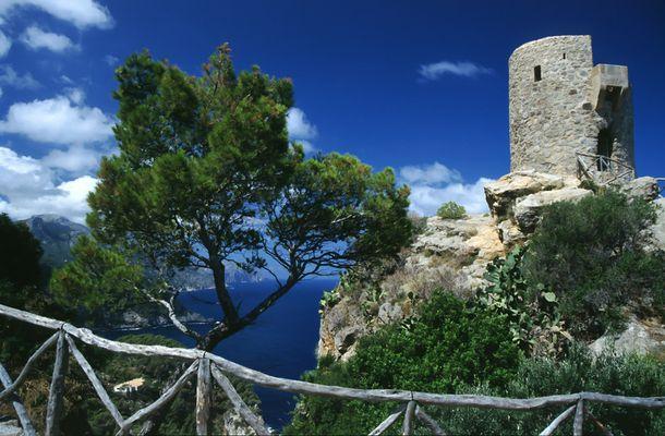 Mallorca Westküste Scan vom Dia