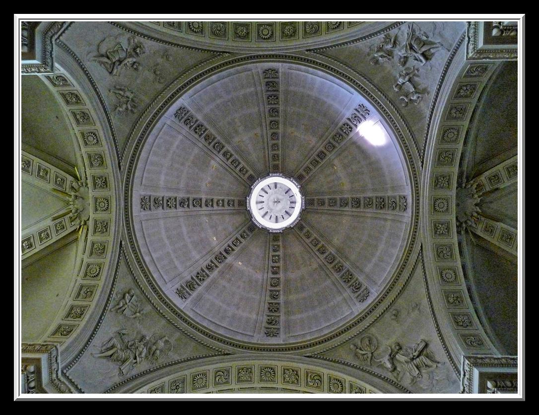 MALMEDY, coupole de la cathédrale
