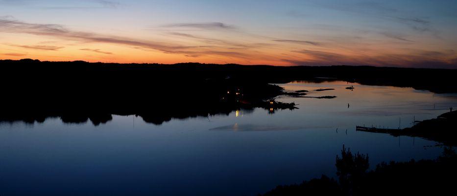 Malö (Schweden) by night