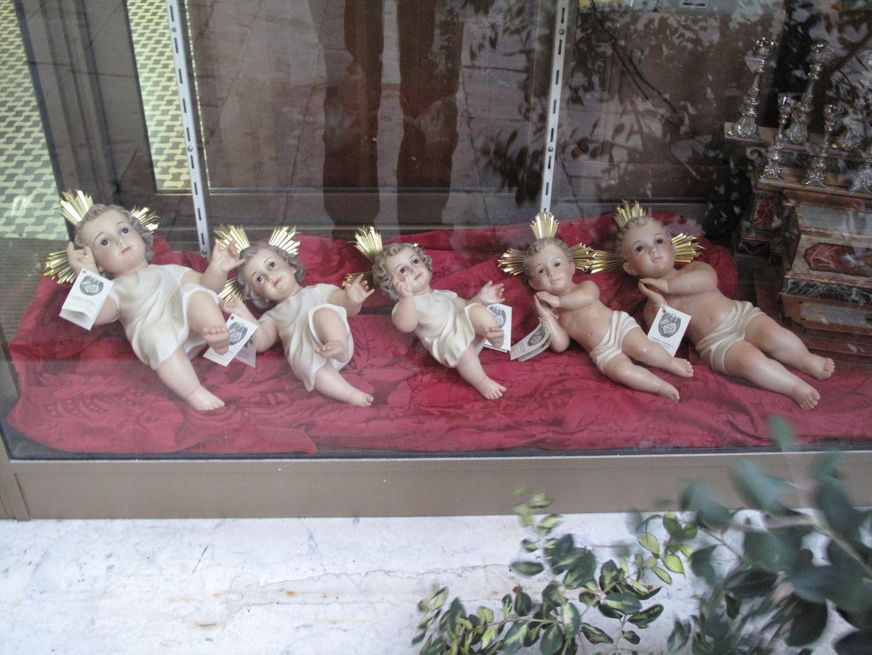 Malta Christkinder Schaufenster