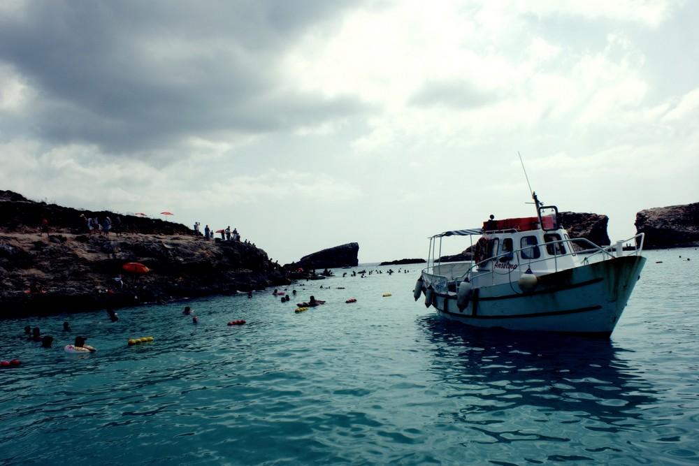 Malta - Coast Boat