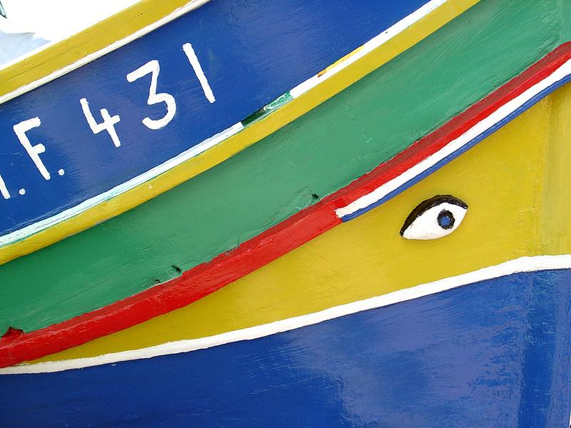 malta fisher boat