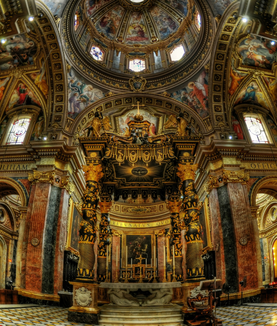 Malta Gozo / St George's Basilica