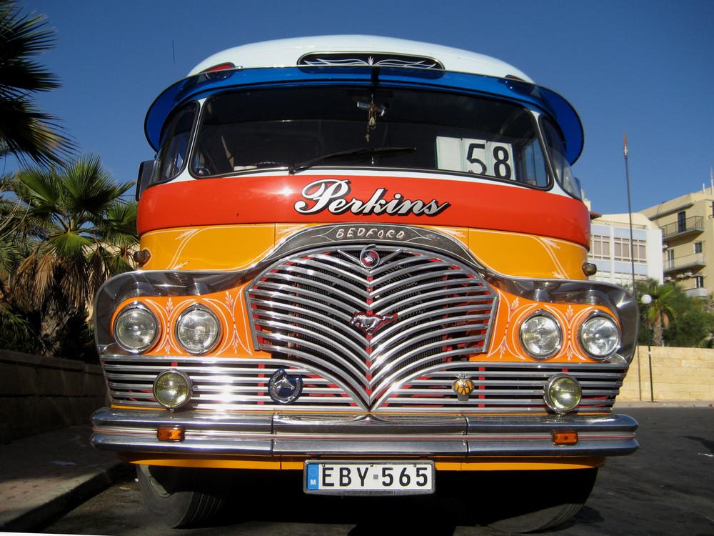 Malta: local bus