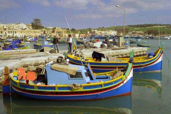 Malta-Marsaxlokk Fischer