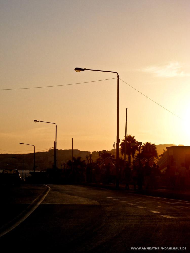 Malta Sonnenuntergang