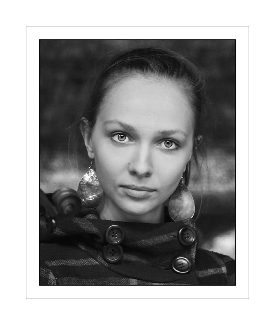 Malwina Krajecki- Sängerin der Gipsy Swings