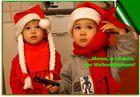 ... Mama, er ist dran der Weihnachtsmann!