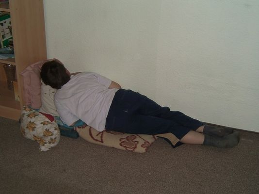 Mama, ich habe mein Bett nicht gefunden.