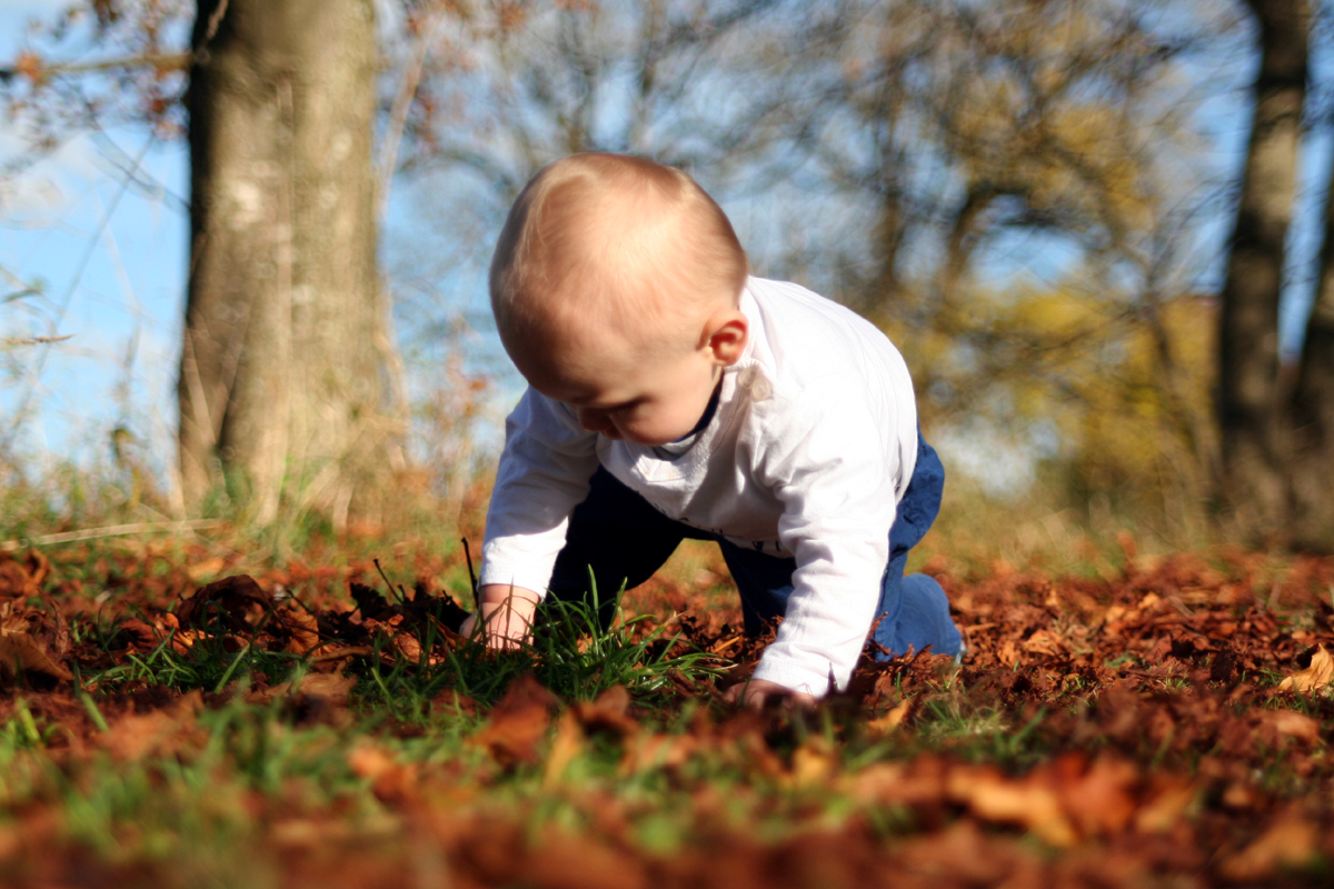 Mama, schau der Herbst ist soooo toll