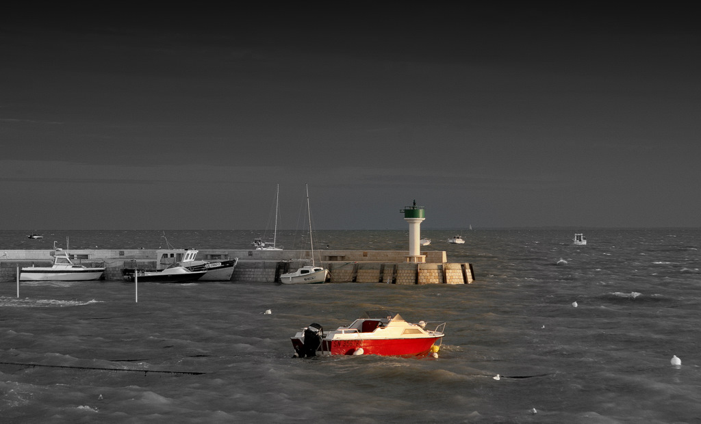 maman les petits bateaux vont ils sur l'eau, mais oui mon gros bêta...