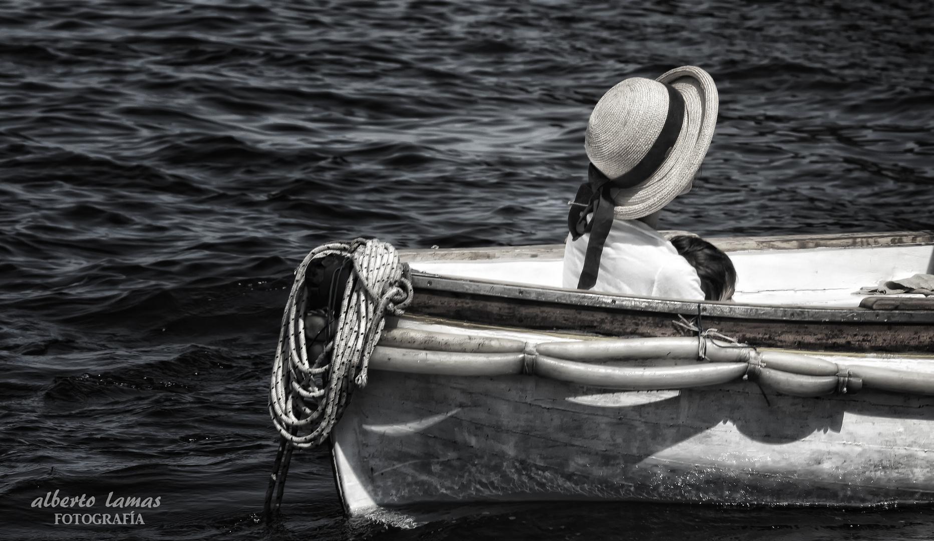 mamma sulla barca
