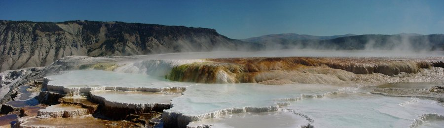 Mammoth Hot Springs 1