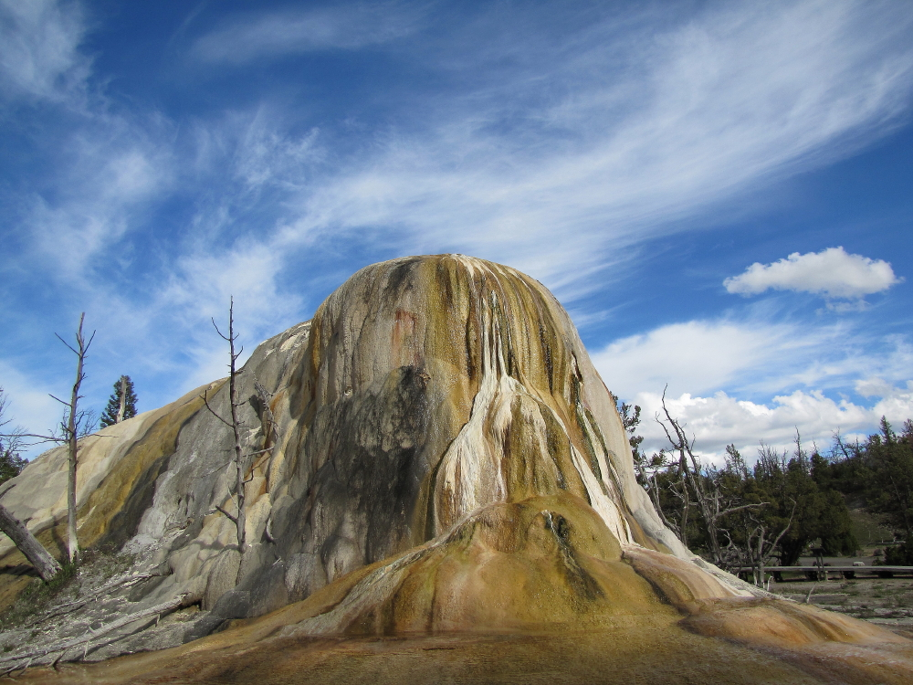 --Mammoth Hot Springs 1--