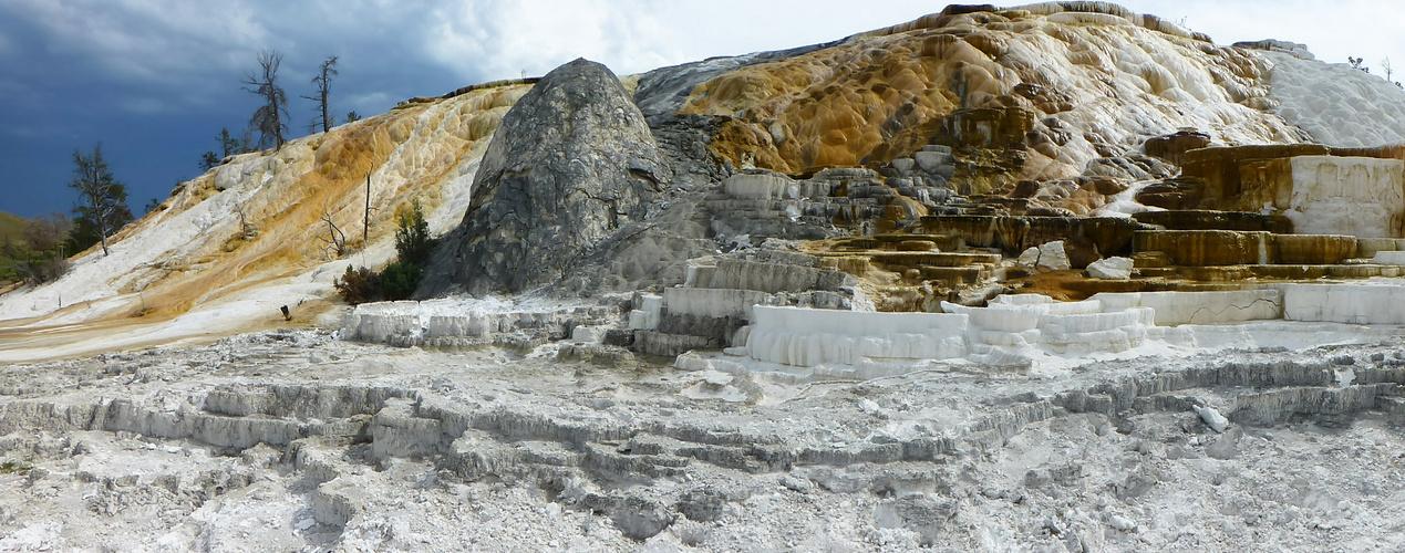 Mammoth Hot Springs Yellowstone Nationalpark