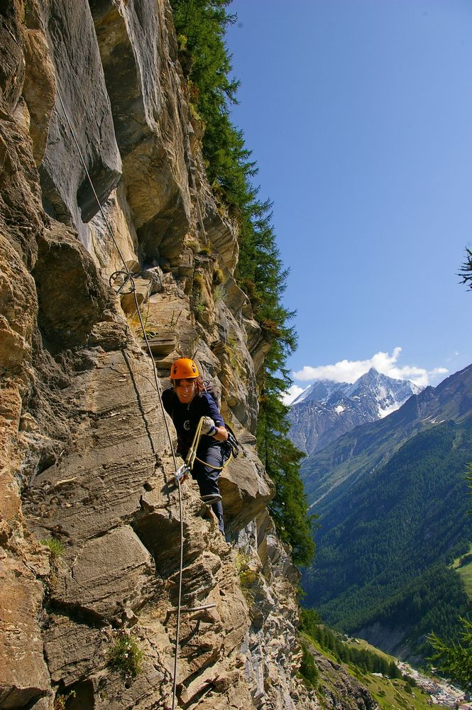 Mammut-Klettersteig