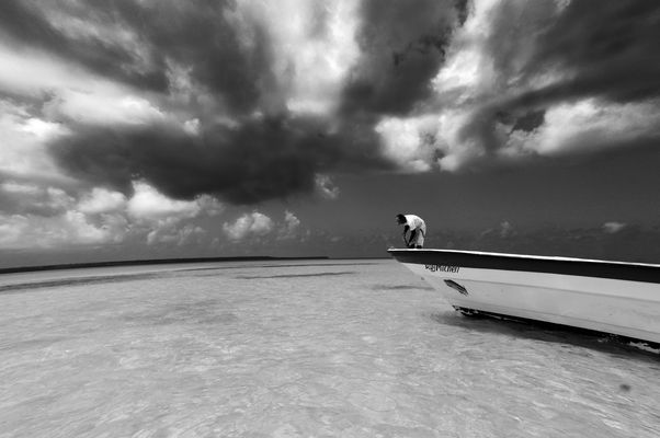 man and the boat