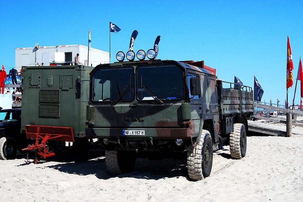 MAN Militärfahrzeug