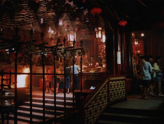 Man Mo Tempel - Hongkong