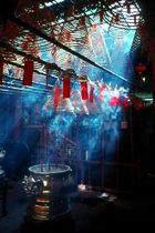 man mo tempel in hongkong