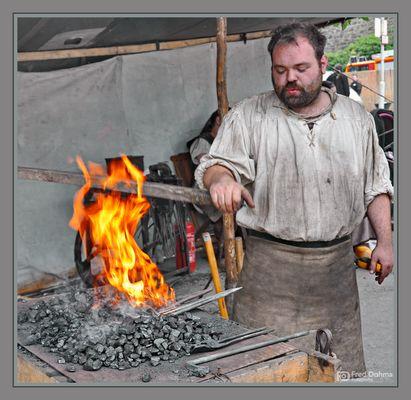 Man muss das Eisen schmieden, solange es heiß ist