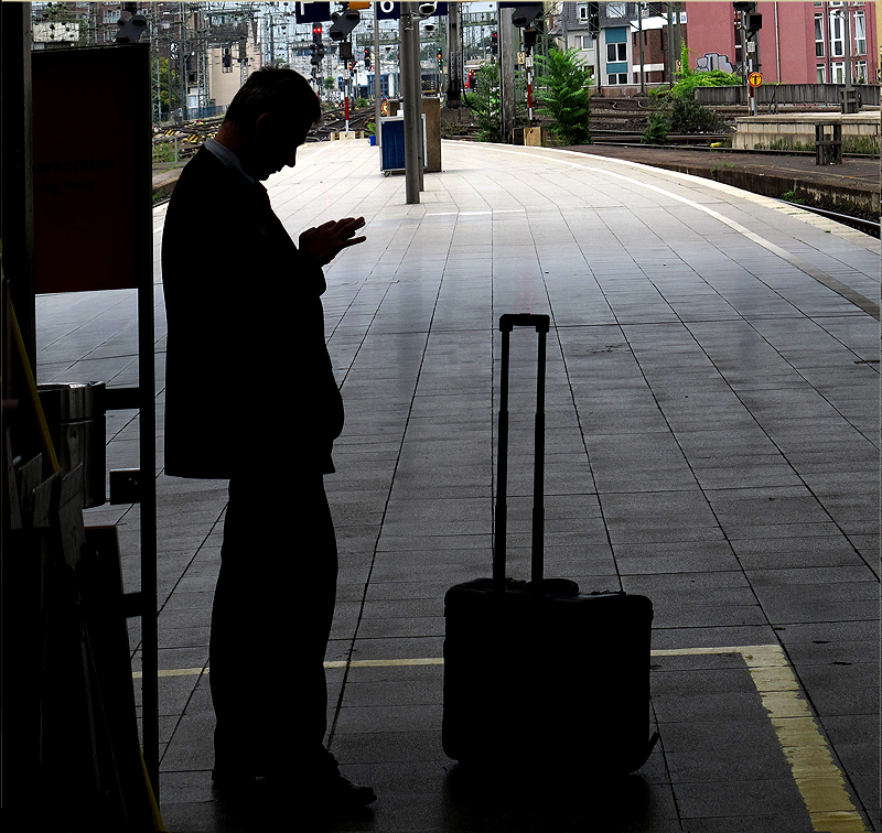 Man on the Mobile