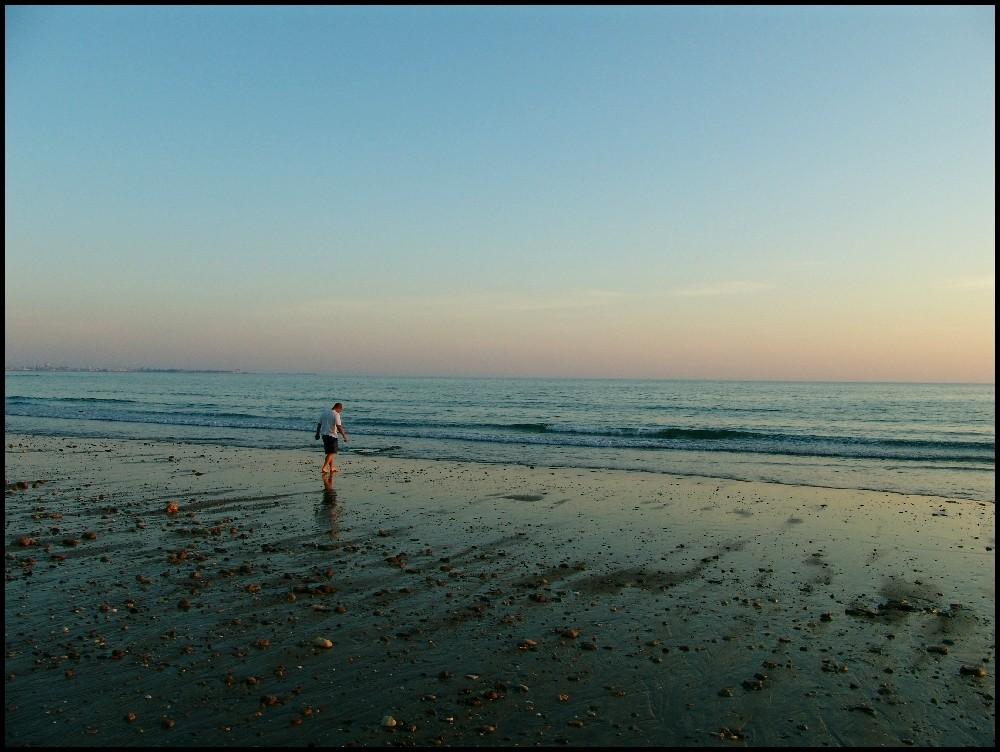 Man on the sea