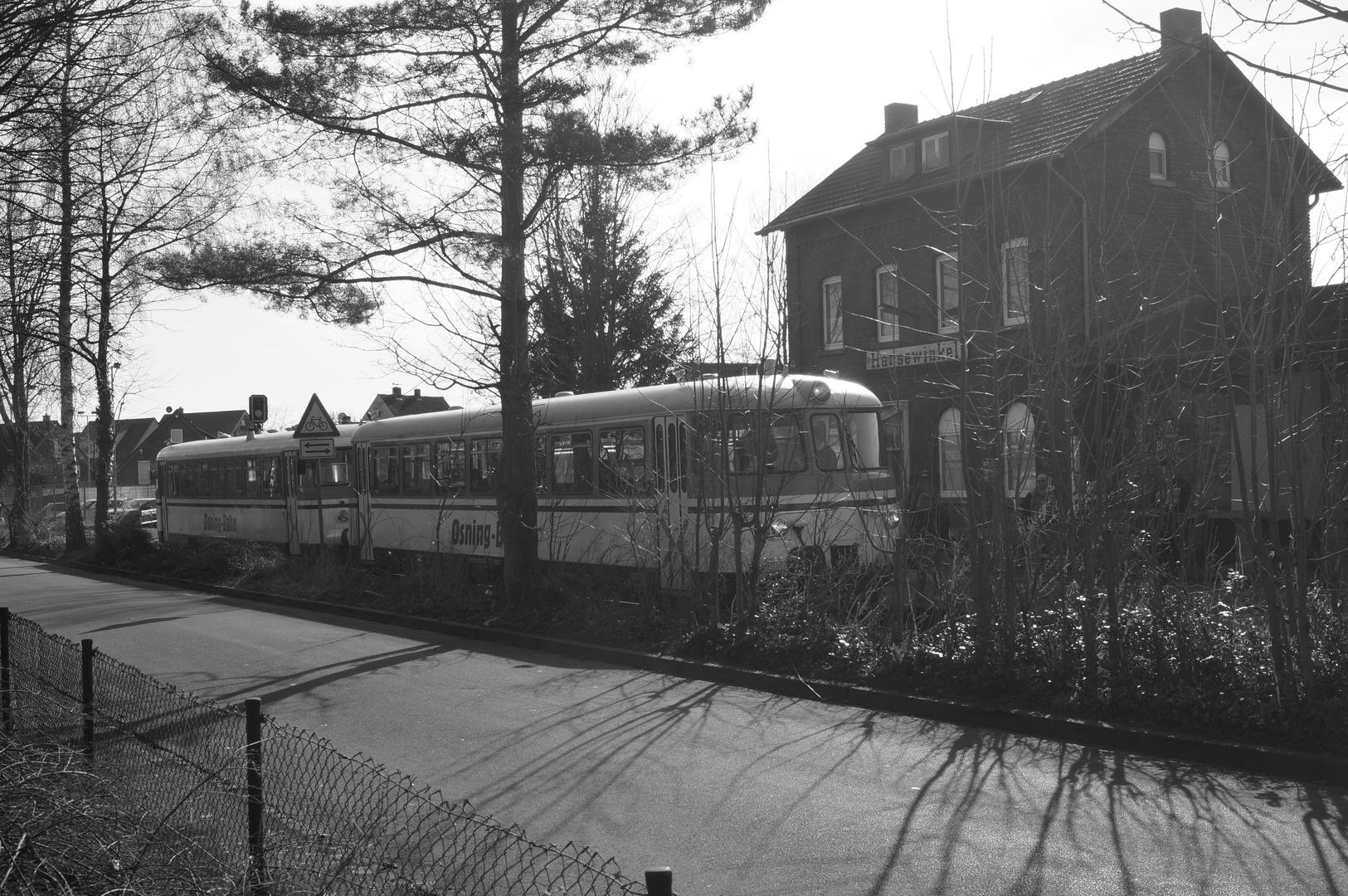 MAN Schienenbus 1964 - 1966 von der Osning-Bahn