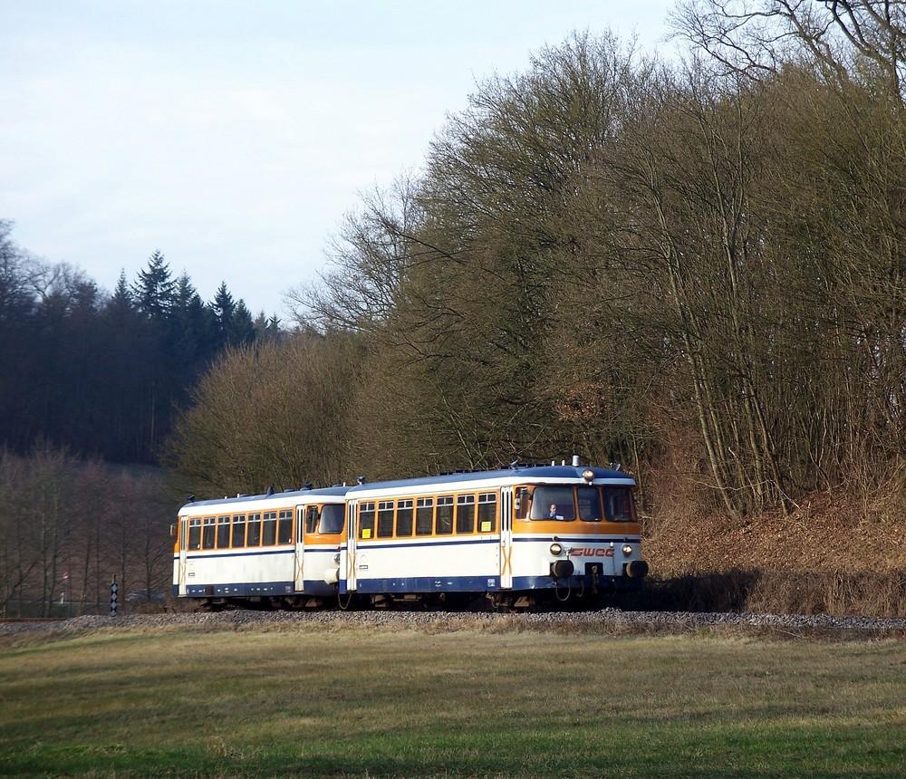 MAN Schienenbus bei Untergimpern