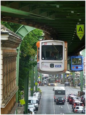Man schwebt in Wuppertal ...