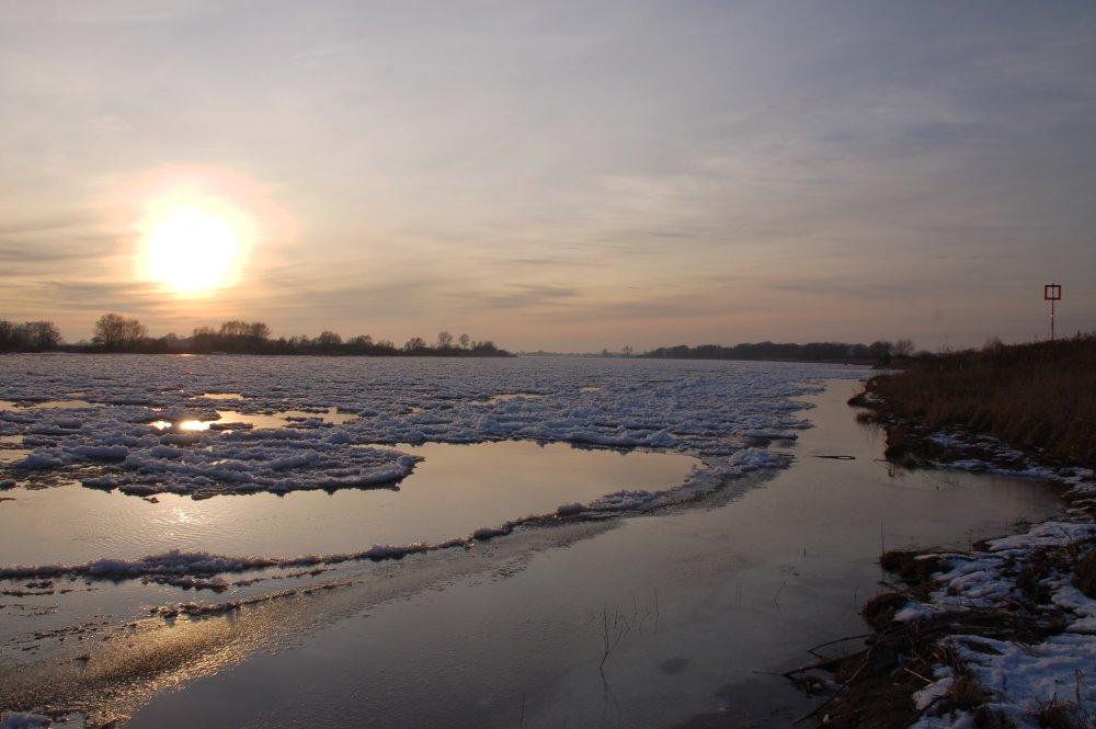 Man sieht so selten soviel Eis