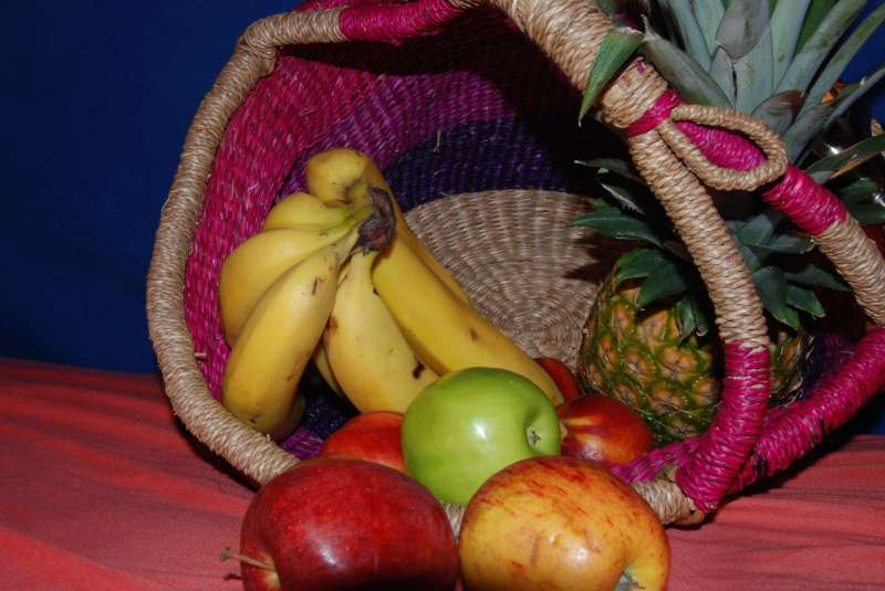 Man sollte auch Obst essen