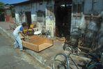 Managua 1984. Tischlerei