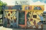 Managua 1984. Wandbild