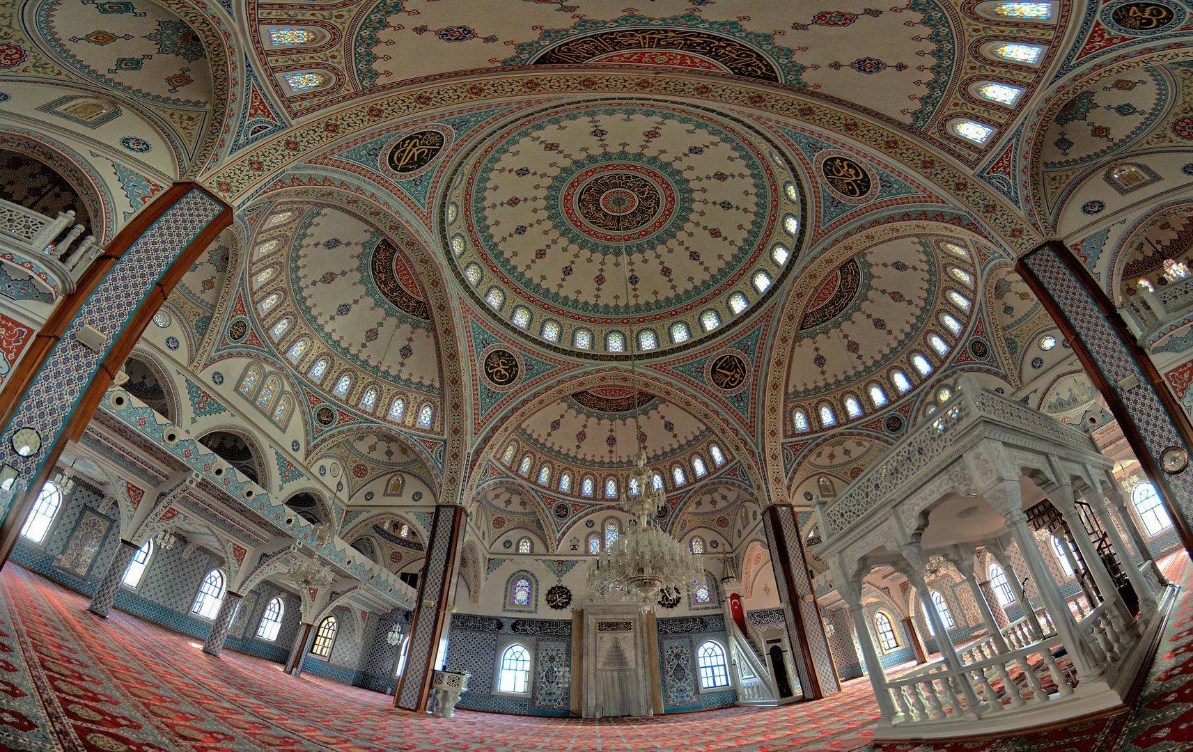Manavgat Moschee Innenraum