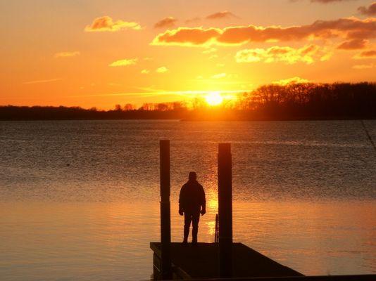 manche Leute lieben Sonnenuntergänge...