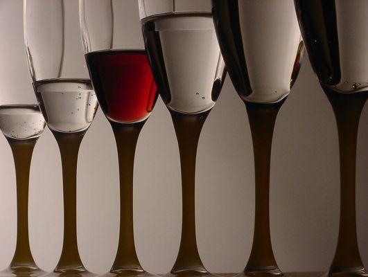....manchmal ist es Wein....