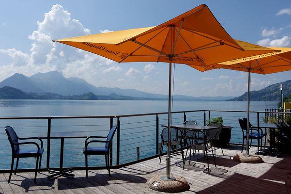 Manchmal liegt das Glück so nah. Beaten Bucht am Thuner See