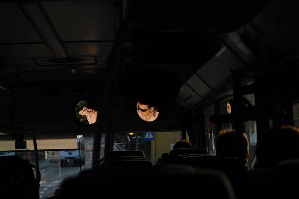 Manchmal muß man als Busfahrer anderen Verkehrsteilnehmern…