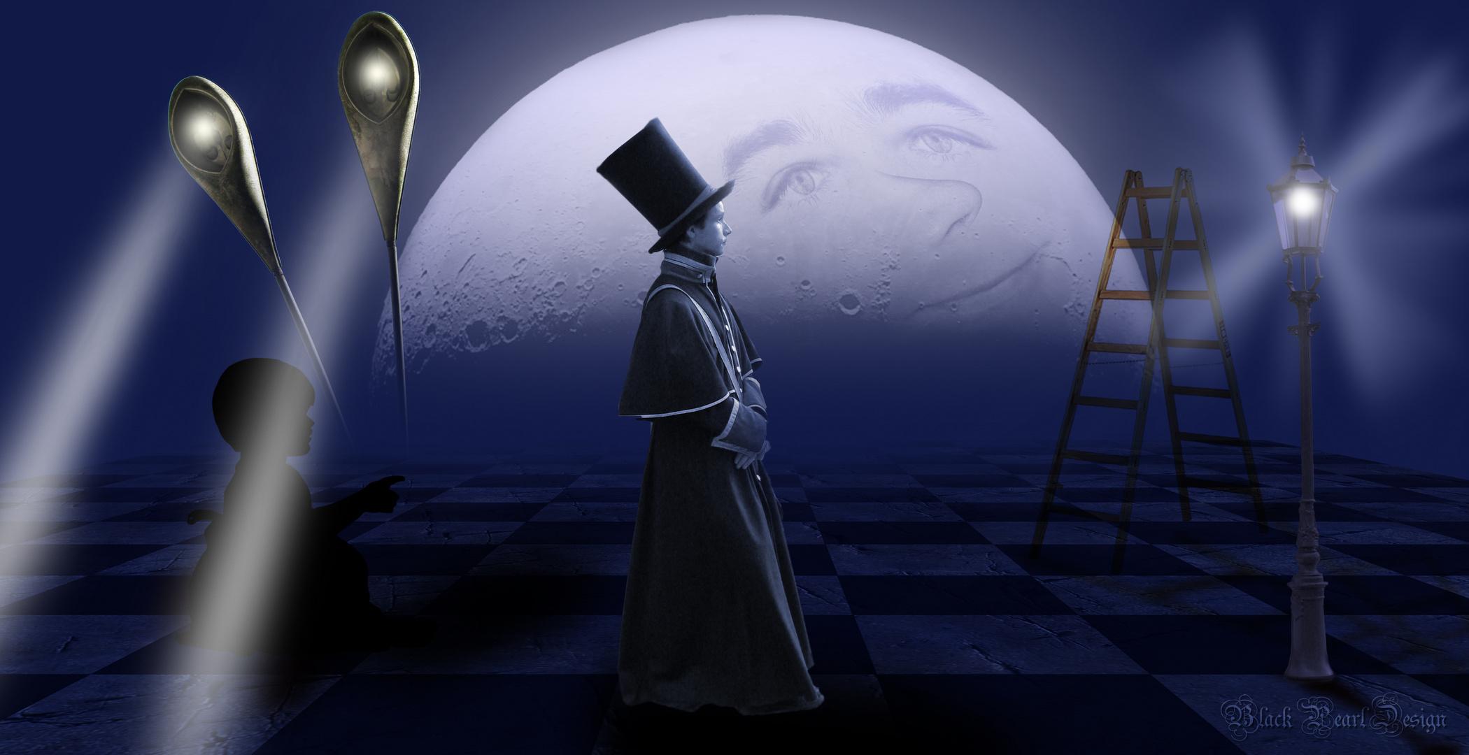 manchmal wird der Mann im Mond