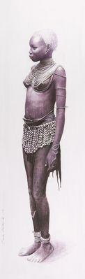 Mandari girl- ethiopia