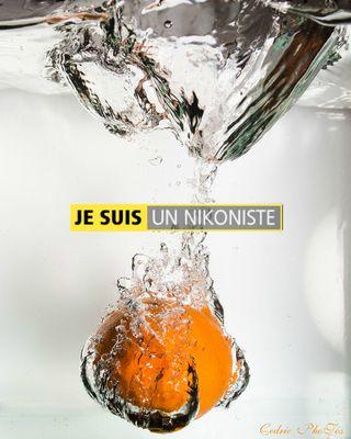 Mandarine a l'eau