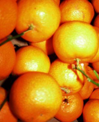 Mandarines et c'est tout